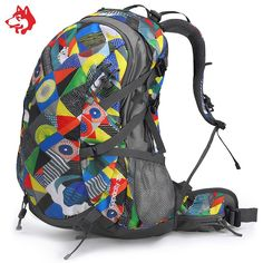 59.94$  Buy here - http://aliivc.shopchina.info/1/go.php?t=32783474072 - Brand 32L Outdoor Sports Hiking Walking Backpacks Bag For Mochila Camping Climbing Cycling Travel Backpack Bags Rucksack  #bestbuy