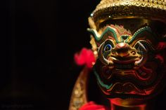 Thai mask Dance