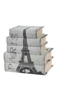 HauteLook | Easy Update: Vintage Decor: Book Boxes - Set of 5