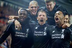 Origi (3G), Skrtel, Lucas, Moreno (A), Ibe (G & A) & Lovren vs Southampton