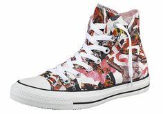 Größenhinweis , Fällt klein aus, bitte eine Größe größer bestellen., |Produkttyp , Sneaker, |Form/Schnitt , Schmale Form, |Schuhhöhe , Knöchelhoch (high), |Farbe , Pink-Bunt, |Herstellerfarbbezeichnung , Pink Freeze/White/Black, |Obermaterial , Textil, |Verschlussart , Schnürung, |Laufsohle , Gummi, | ...