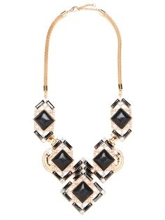 Channel old world glamour with our Ebony Gardner Bib!  http://fashion-opolis.blogspot.in/2012/06/make-statement.html