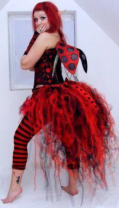 Alienskin Clothing Women's Faery Gothic Alternative net bustles