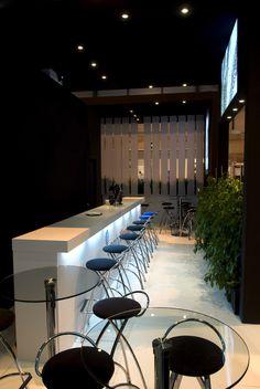 Detalle del stand de Crambo Visuales en Matelec. COOC Alternativa de Diseño.