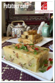 Teochew Traditional Potatoes Cake (潮汕甘筒粿, 土豆粿, 薯仔糕, 马铃薯粿) #guaishushu #kenneth_goh #potatoes_cake