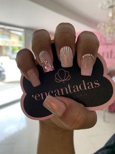 Acrylic Nails Coffin Short, Coffin Nails, Beauty Spa, Short Nails, Nail Inspo, Toe Nails, Summer Nails, Pedicure, Nail Designs