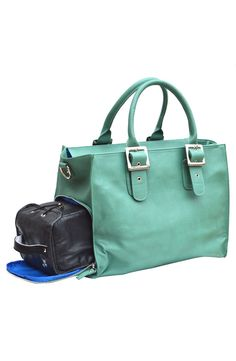 Stylish breast pump tote.