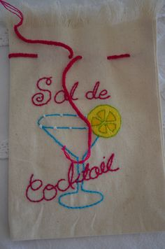 A perfect addition for your home bar... Sal de Cocktail...a gourmet sea salt for margaritas, bloody mary's, salty dogs, micheladas and more