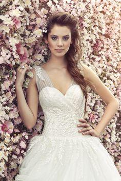 blossom portrait  - wedding dress?