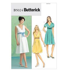 Butterick Dress Pattern B5024  Misses' Dress by ThePatternSource, $10.00