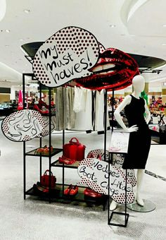 in-store retail merchandising has to be as attractive as promised by the shop window presentation. Visual Merchandising Displays, Visual Display, Display Design, Store Design, Propaganda Visual, Design Blog, Shop Window Displays, Design Furniture, Window Design