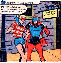 Super heroes turning tricks MattAdore
