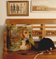 Gobelin-Kissen Beagle