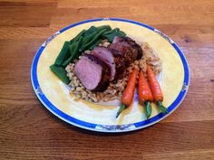 Diary of a Sauce Pot: Roast Loin of Pork with Pearl Barley