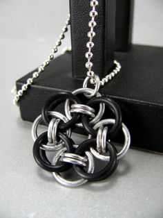#chainmaille Pendant idea