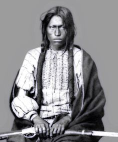 """The title of this photo is: (Sioux Chief Running Bear who defeated Col. Baker U. S. A. in 1854), which has created a bit of a mystery. I have found two Col. Bakers who both lived in the same time frame but neither seems to have been in a fight with Indians. Running Bear is just a complete enigma. I finally found his name mentioned in the Historical Book of the Nth American Indians """"Two Bears was appointed head chief of the Lower Yanktonai and Running Bear was mentioned as one of his Chiefs."""""""