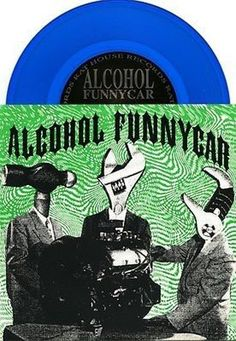 """Alcohol Funnycar 1992 'Pretense' Rare Indie-Rock 7"""" Blue Vinyl  See all our Vinyl at Rock On Collectibles: http://stores.ebay.com/Rock-On-Collectibles/Vinyl-LPs-Singles-/_i.html?_fsub=7421951&_sid=70220124&_trksid=p4634.c0.m322"""