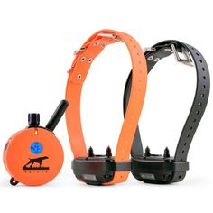 2 Dog 1 Mile Upland Hunting Dog Training Collar