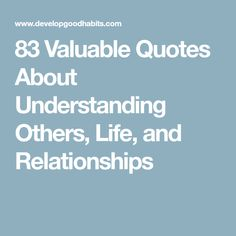 25 Best Quotes About Understanding Images Thoughts Proverbs