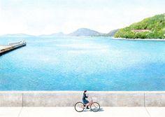 小豆島 自転車
