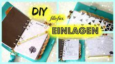 DIY Filofax Einlagen, Filofaxblätter, Printables mit picmonkey, word und...