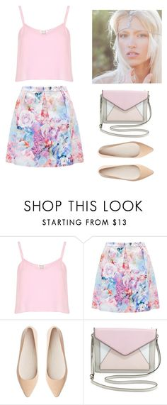 """""""Pastel love"""" by momockapai ❤ liked on Polyvore featuring River Island, Forever New, Witchery and Rebecca Minkoff"""