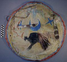 Sioux shield. Peabody Harvard  ac