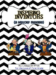 Inspiring Inventors is a freebie to help teach your kiddos 3 of the famous inventors from the past. Included inventors in this packet are Ben Frank. Teaching Social Studies, Help Teaching, Creative Teaching, Teaching Ideas, School Themes, Classroom Themes, Primary Classroom, Educational Activities, Learning Activities