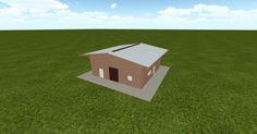 Cool 3D #marketing http://ift.tt/2zWOiNP #barn #workshop #greenhouse #garage #roofing #DIY