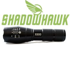 Shadowhawk x800 Tactical LED Flashlight Features. To get more information visit http://www.flashlightfocus.com/