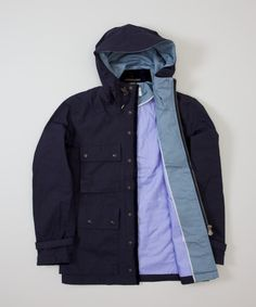 Nanamica Cruiser Jacket- Navy - Superdenim