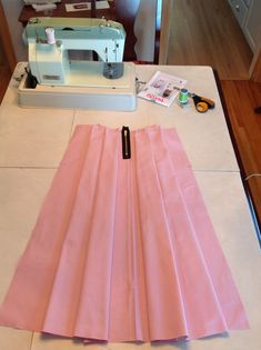 A & L : Sewing Lessons Midi Skirt {DIY}