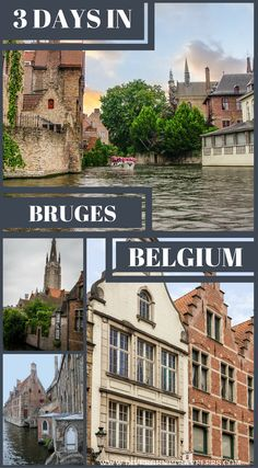 3 days in Bruges Belgium. Use our 3 days in Bruges vacation travel guide for the perfect long weekend itinerary, including the best accommodations, attractions and restaurants. Click to read: 3 Days in Bruges – What to do in Bruges #Bruges #Belgium #Travel #Guide