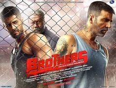 Brothers (2015) First Look Poster Akshay Kumar Sidharth Malhotra