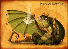 HTTYD- Poison Darter by Pimander1446.deviantart.com on @DeviantArt