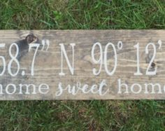 Love One Another Distressed Wood Sign Stained and Hand Painted | Etsy