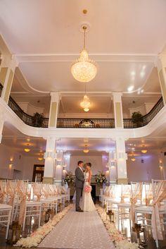 An Ivory Formal Wedding at Monte Cristo Ballroom in Everett, Washington