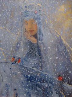 'The winter' by Vladimir-Kireev 2014 @deviantART