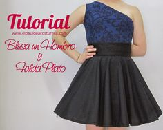 Confección falda rotonda - How to sew skirt circle | EL BAÚL DE LAS COSTURERAS