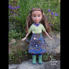 tree change dolls. Adorable!