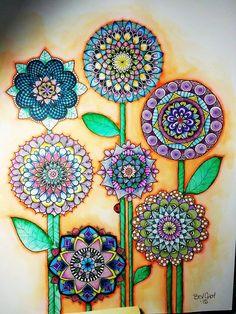 Watercolor Garden by Bev Choy