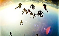 Skyivers in head down   #skydiving #paracaidismo