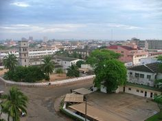 Lome, Togo - West Africa.  Lived in Tabligbo, Togo for two years for Peace Corps, but made many trips to Lome!