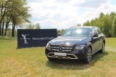 Mercedes-Benz E-Class Coupe и «внедорожный» универсал E-Class All-Terrain представили на гольф-турнире MercedesTrofy 2017 в Киеве.