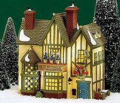 J. D. Nichols Toy Shop Dickens Village