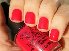 opi instyle red
