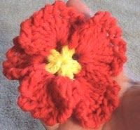 Teresa Richardson Home Hangout: Crochet Pansy Variation 2