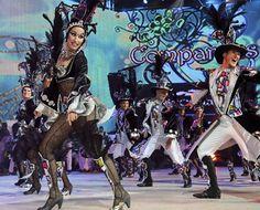 Grupo Mascarada Carnaval: Giratorio y premio a la mejor coreografía