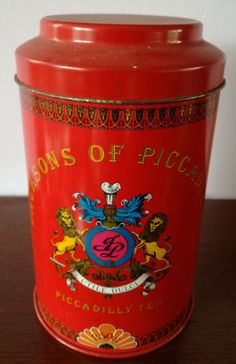 Jacksons of Piccadilly Thee Rood -groot