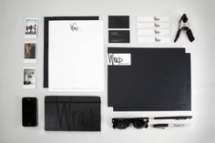 Wrap Productions by Breyna Fries, via Behance